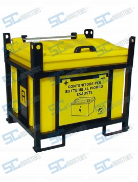 Contenitori per accumulatori esausti - BATTERY 2